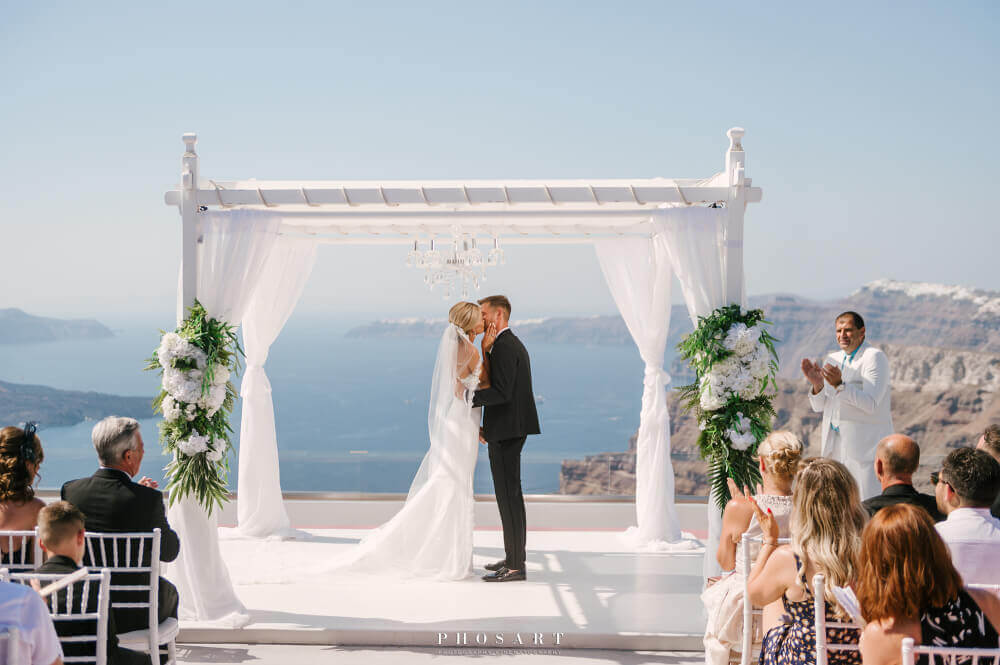 Santorini Wedding Venues - The Bridal Consultant