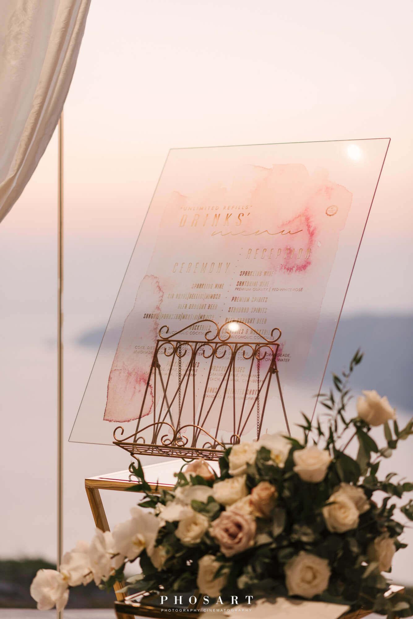 Le Ciel Wedding Santorini