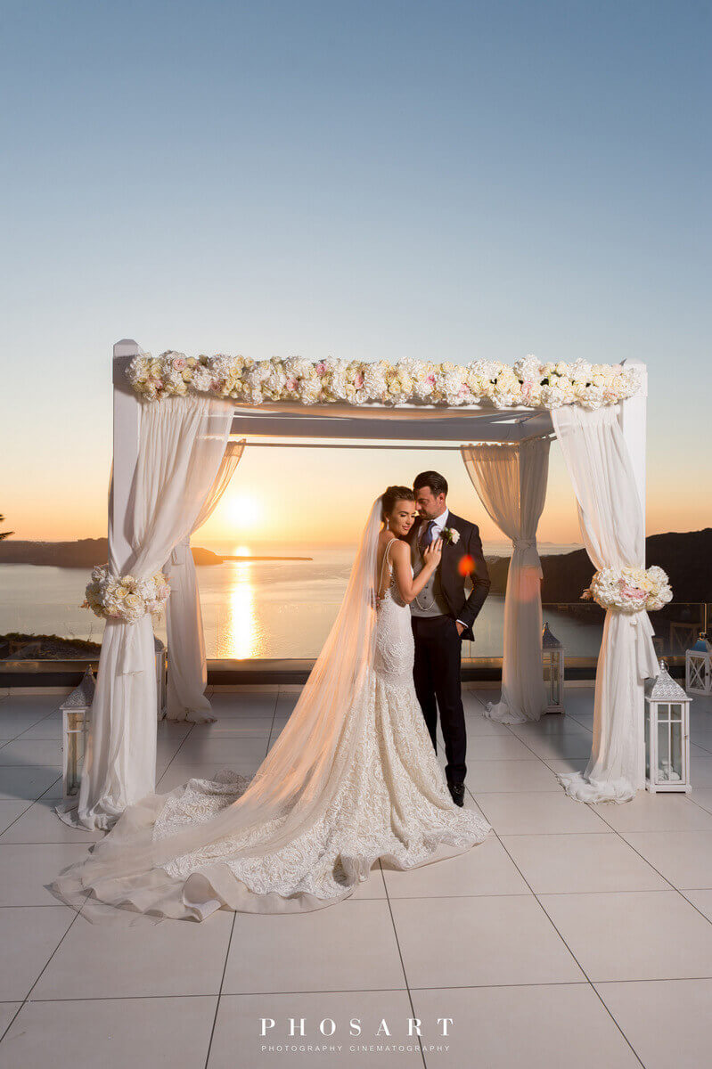 Le Ciel Wedding Santorini