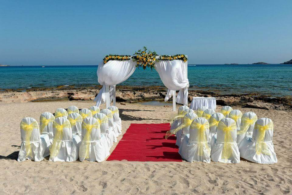 Lindos Memories Beach Wedding Rhodes - The Bridal Consultant