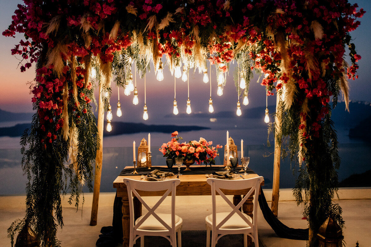 Wedding in Greece Santorini- the Bridal Consultant