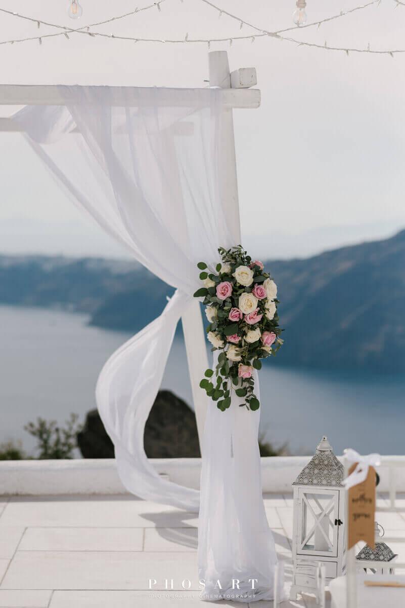 Rocabella Spa Hotel Wedding Santorini- the Bridal Consultant