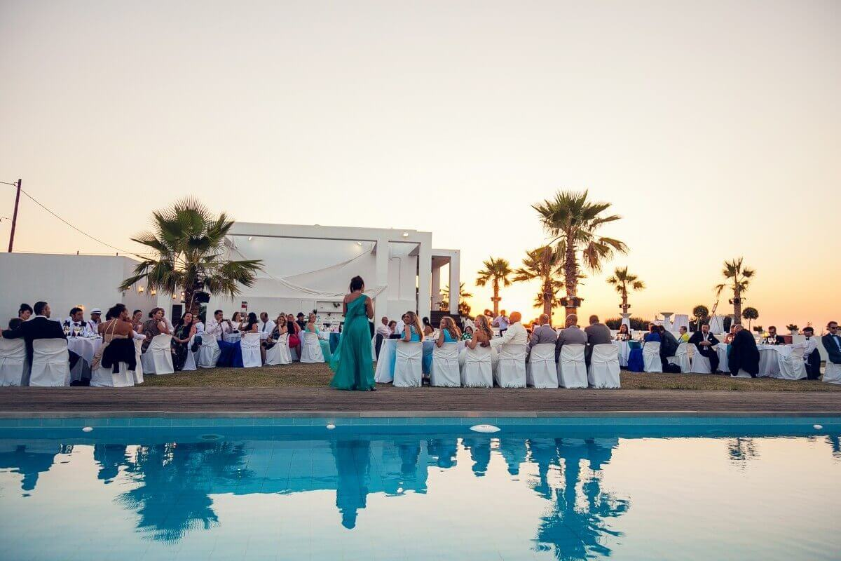 Private Villa Wedding Crete - The Bridal Consultant