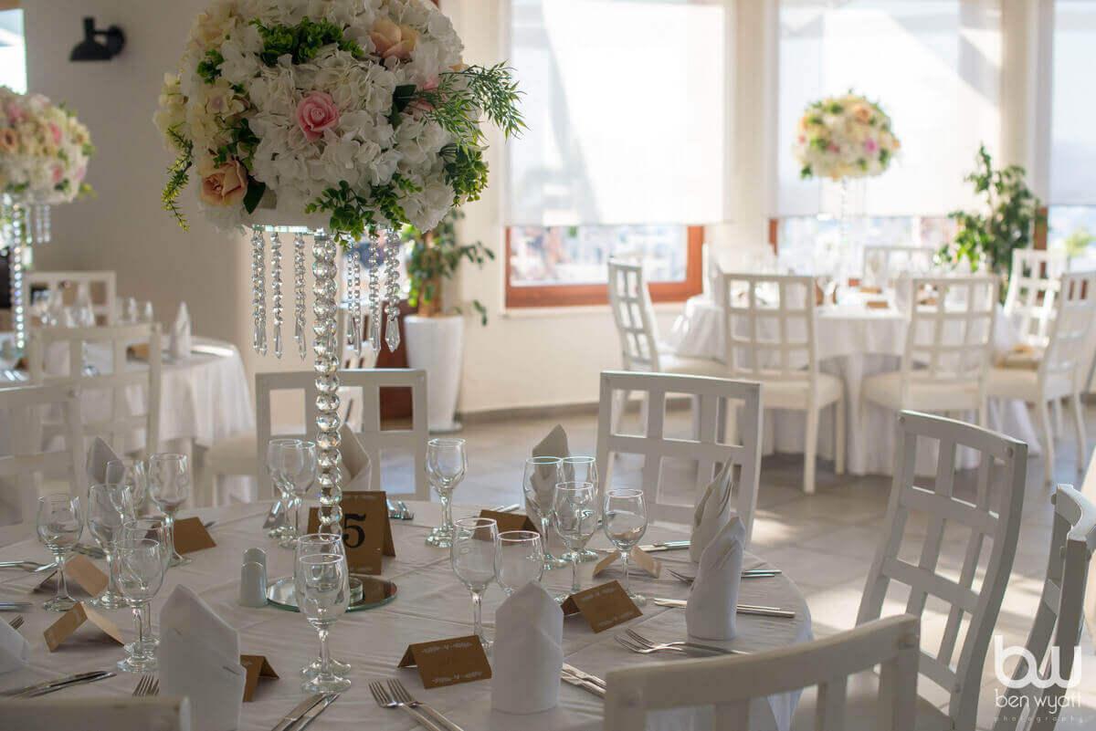 Pygros Boutique Taverna Wedding Santorini - The Bridal Consultant