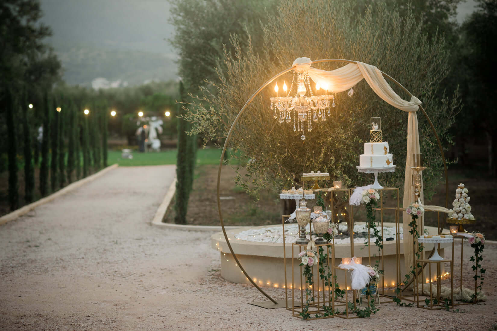 Olive Grove Wedding Venue - Crete - The Bridal consultant