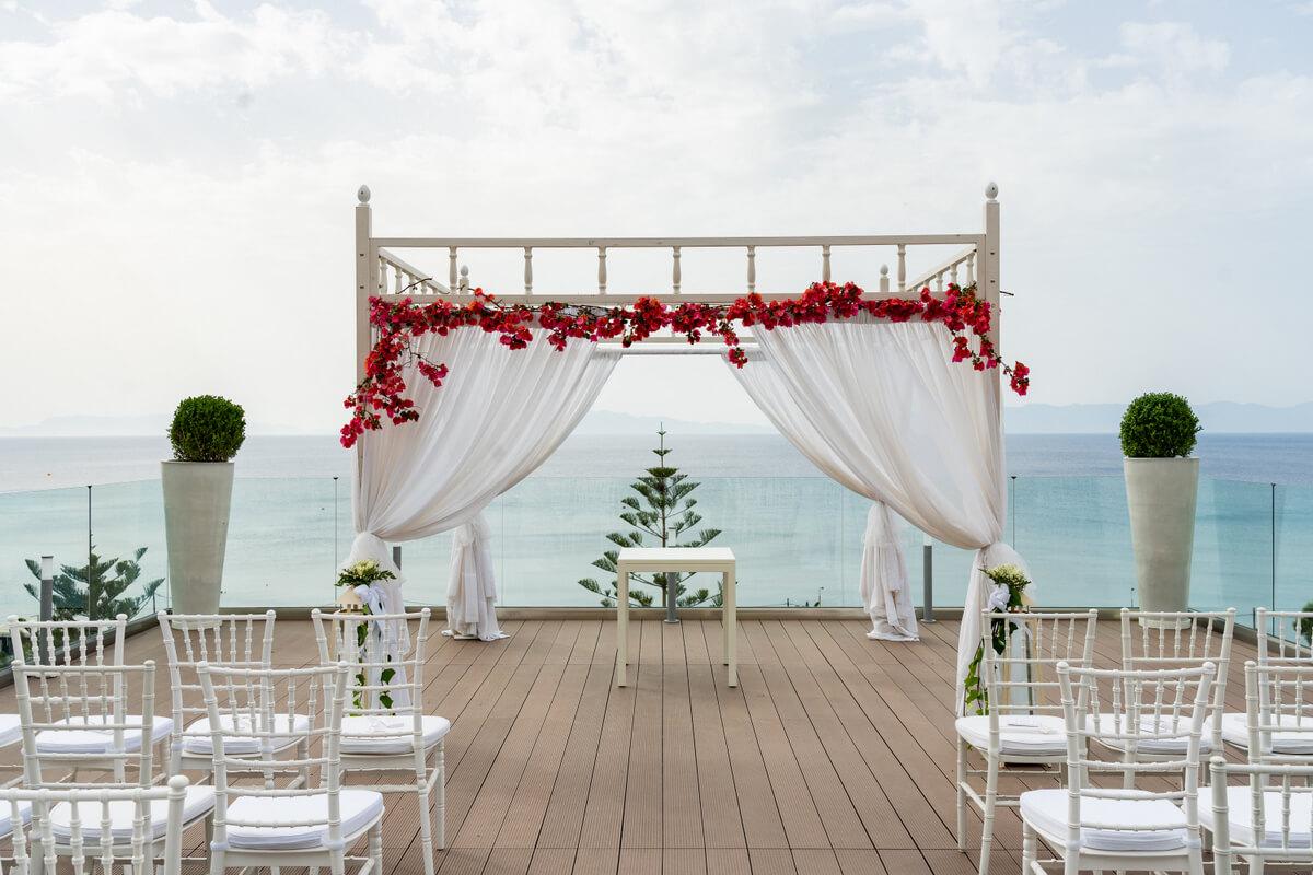 Sheraton Hotel Rhodes Wedding - The Bridal Consultant
