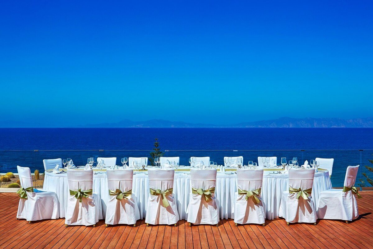 Sheraton Hotel Rhodes Wedding - The Bridal Consultant