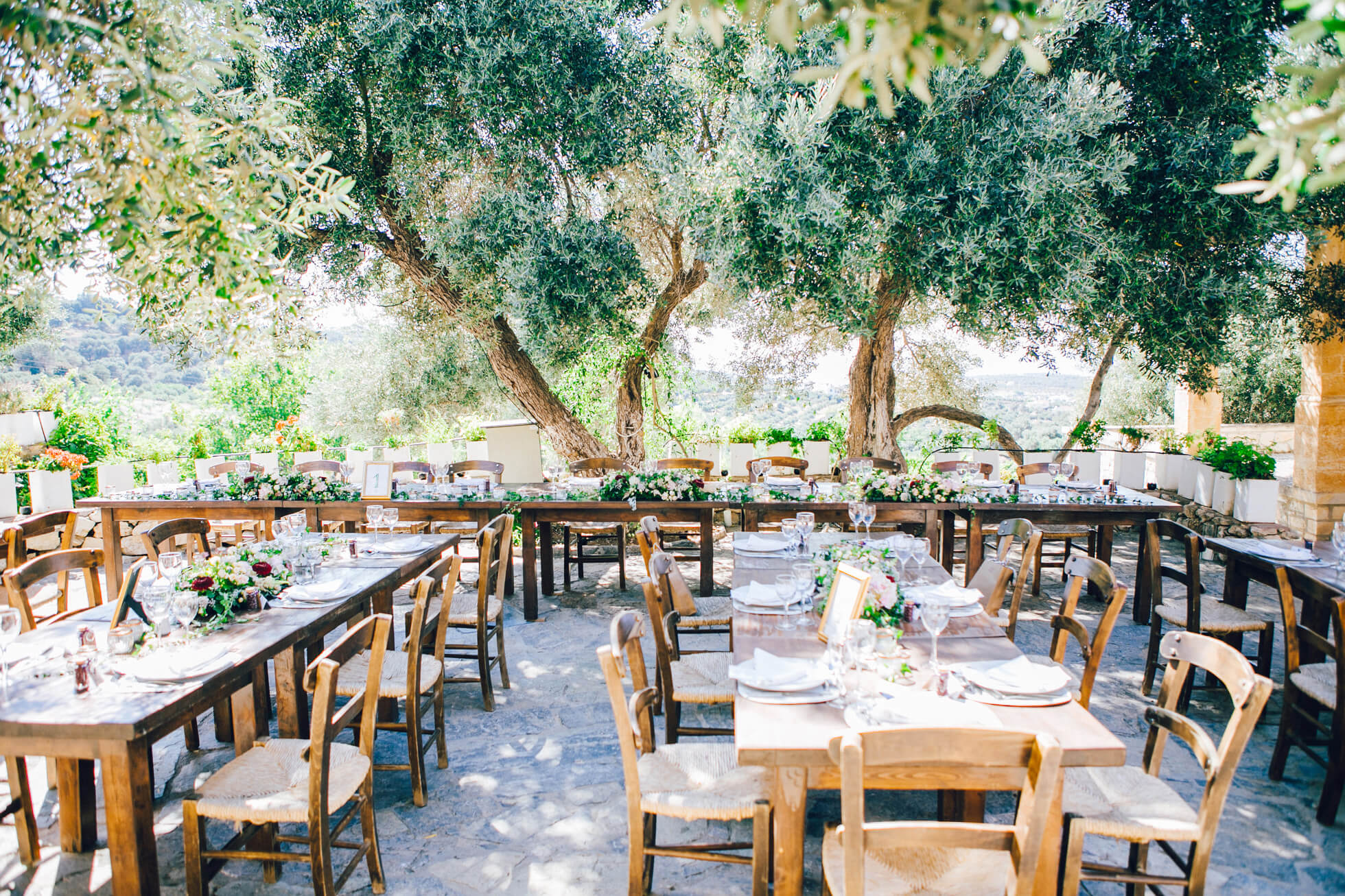 Intimate Weddings Abroad - in Crete - By The Bridal Consultant