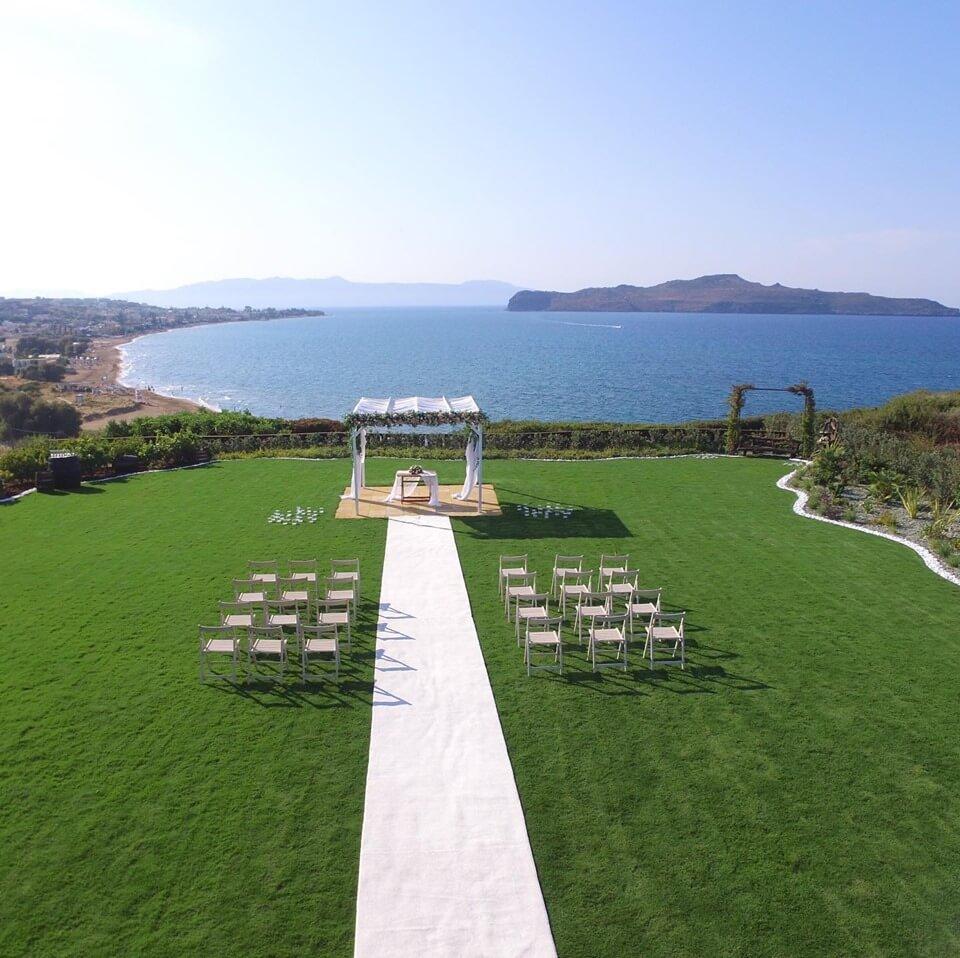 Seaview Wedding Crete - The Bridal Consultant