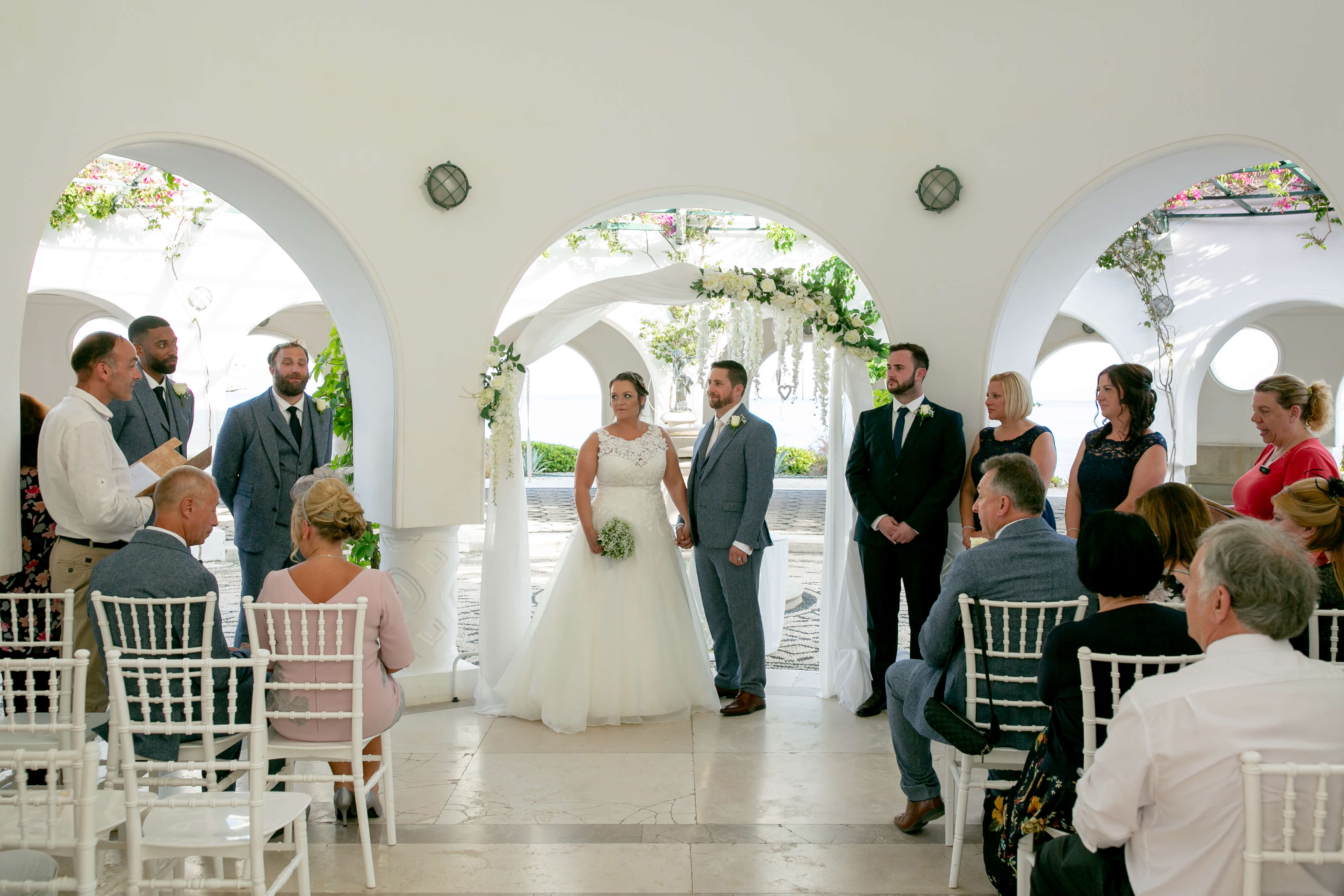 Intimate Weddings Abroad - in Rhodes - By The Bridal Consultant