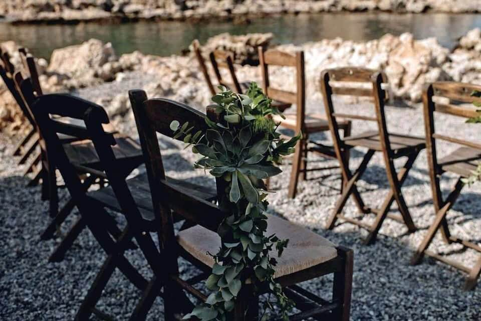 Private Beach Wedding in Rhodes - The Bridal Consultant