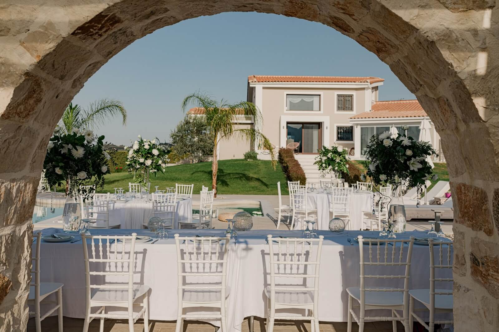 Luxury Villa Wedding Zante - By the Bridal Consultant