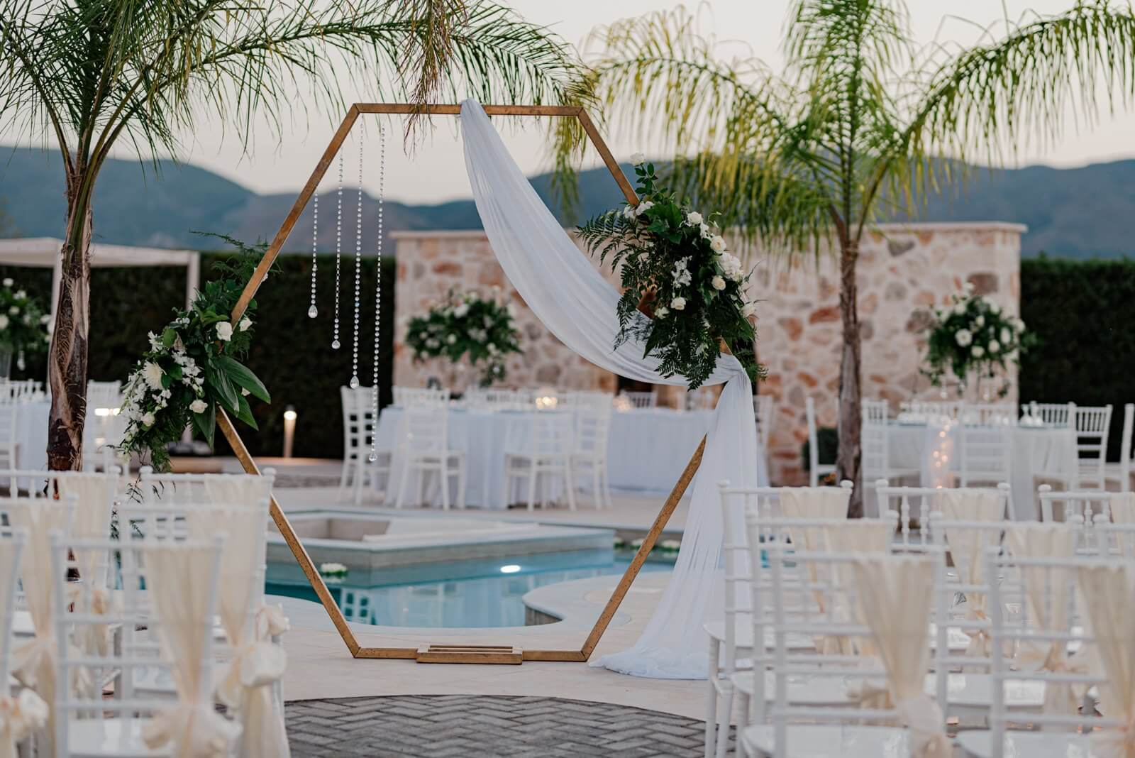 Luxury Villa Wedding Zante - By the Bridal Consultant