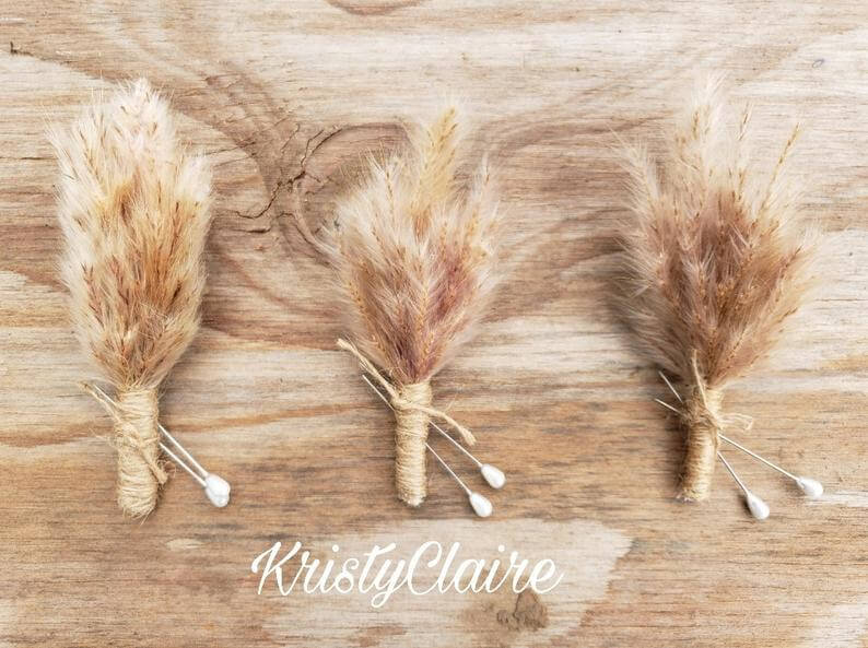 Pampas Grass Wedding Ideas - The Bridal Consultant