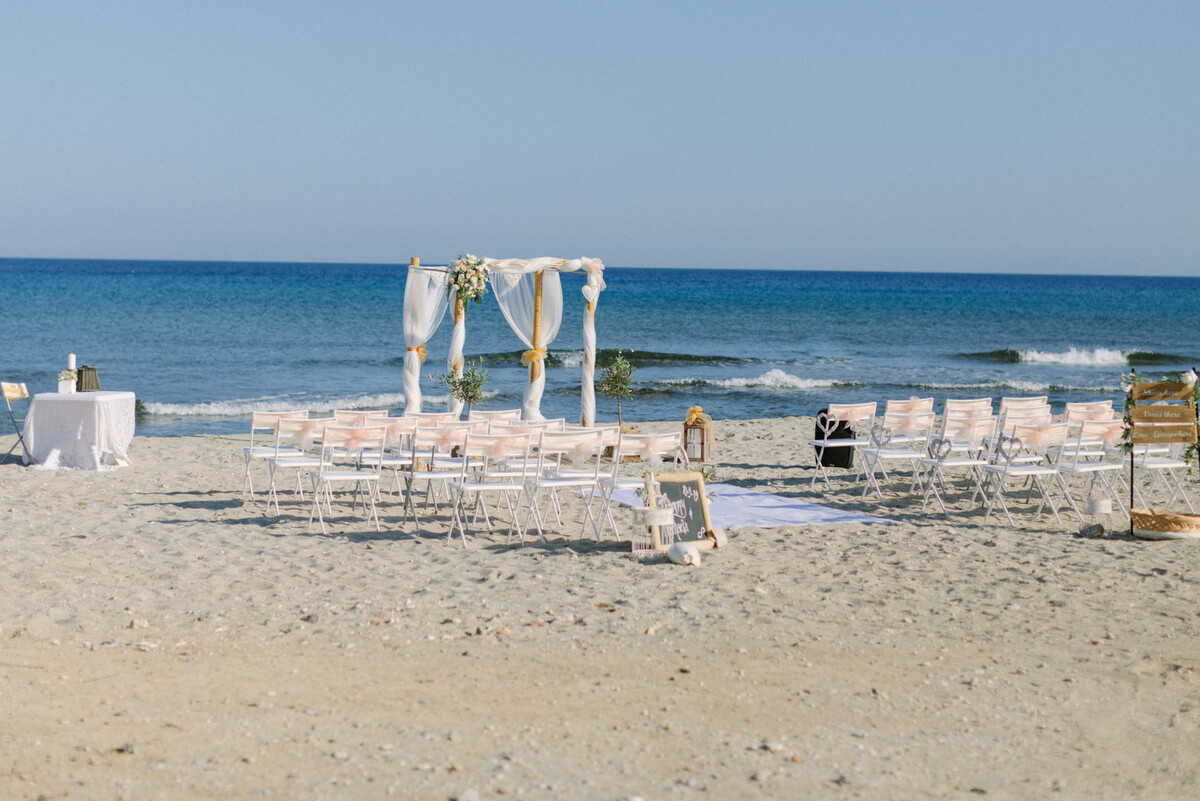 Wedding in Kardamena Kos - The Bridal Consultant
