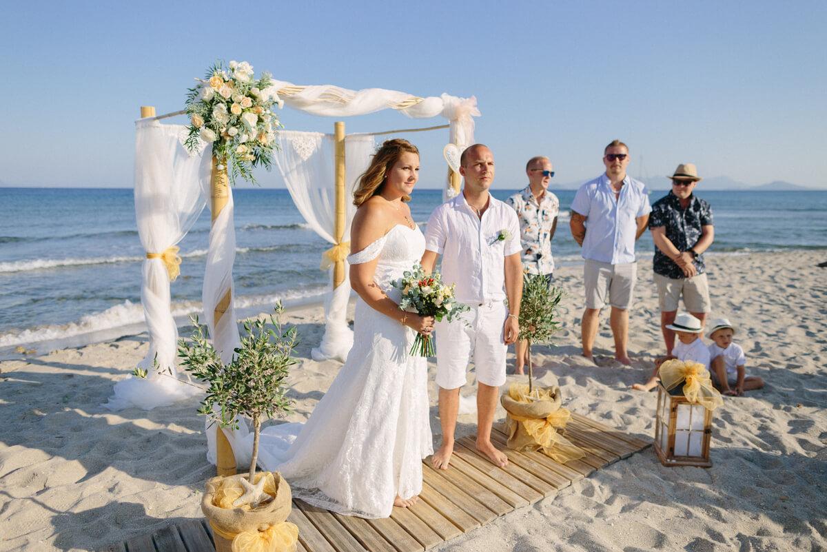 Wedding in Kardamena Kos - The Bridal Consultant