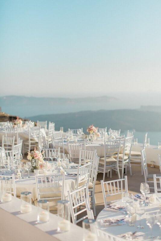 Santorini Table Decoration