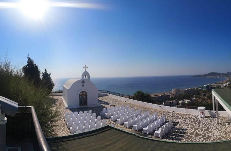 St Sophia Rhodes Wedding the Bridal Consultant